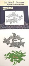Tattered Lace Dies Cutting Die Floral Scroll Scrapbook CardMaking Flowers Flower