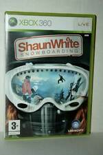 SHAUN WHITE SNOWBOARDING GIOCO USATO OTTIMO XBOX 360 EDIZIONE ITALIANA AT3 44263