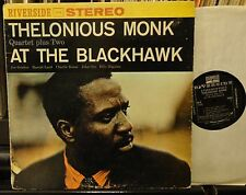 THELONIOUS MONK Quartet + 2 At The BLACKHAWK stereo RLP 1171