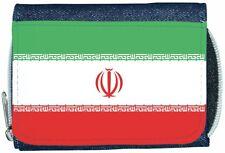 Iran Flag Denim Wallet