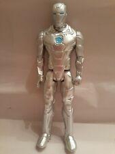 "12"" Silver Ironman Figure, Doll"