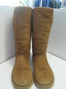 Genuine Ugg Classic Long Boots UK 4.5 Euro 37.5 in Chestnut