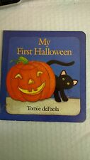 My First Halloween by Tomie dePaola (1991, Hardcover)
