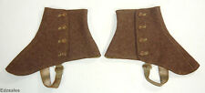 Vintage Bond Street Men's Clothing Made in England Brown Spats