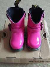 Kids dr martens size 3 Jiffy Hot Pink
