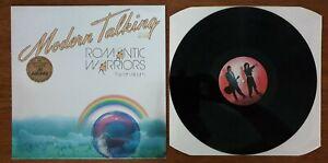 "12"" Vinyl LP - Modern Talking - Romantic Warriors (The 5th Album) - 1987"