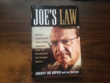 Joe's Law by Joe Arpaio 1st Hardcover w/ Dust Jacket