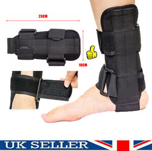 Breathable Foot Drop Orthosis Ankle Brace Support Protection Sprain Splint UK