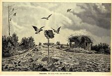 Franz Ulrich (CROWS Hut) Wood Engraving Cairn Graphics 1897