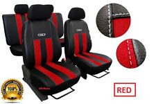 Eco-Leather + Alicante Tailored Set Seat Covers VOLKSWAGEN POLO Mk6 2017 - on