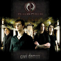 AKANOID Civil Demon (2009) Audio CD Gothic Dark Wave 4260101551542 Gut NEUWERTIG