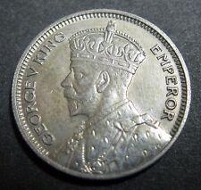 NOUVELLE ZELANDE - 6 PENCE 1934 - GEORGES V - Argent