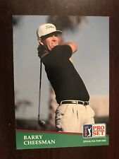1991 Pro Set #166 - Barry Cheesman (RC) - Golf