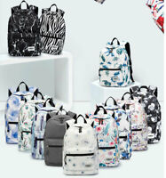 """Rucksack Laptop Backpack Bag 15.4""""15.6"""" Print Notebook Cover Handle Sling Pouch"""