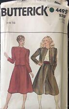 Vtg Butterick pattern 4495 Misses'/Petite Jacket, Skirt & Culottes sz 16 bust 38
