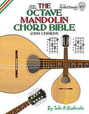 OCTAVE MANDOLIN CHORD BIBLE - 2,160 CHORDS (NEW 2016 EDITION)