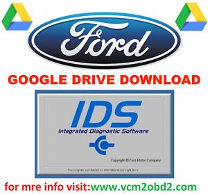FORD IDS 108.01 VMWARE LICENSED WITH INCODE CALCULATOR + MAZDA IDS 106.00