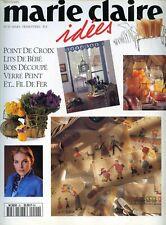 Revue comme NEUVE  Marie Claire Idées  n°20 MARS  1996