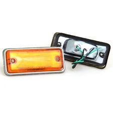 FIT 1972-1979 DATSUN UTE TRUCK PICKUP SIDE MARKER LIGHT LAMP PAIR 620 LEFT RIGHT