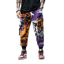 Niepce Camouflage Urban Army Combat Tactical Joggers Streetwear Cargo Pants