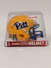 Pittsburgh Panthers (Pitt) 2019 New Gold Revolution Speed Mini Football Helmet