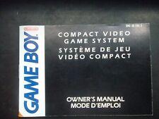 Notice Game boy / GB mode d'emploi de la console original Booklet * Nintendo