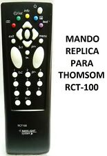 RCT100 MANDO A DISTANCIA TV RÉPLICA THOMSON // TV REMOTE CONTROL COPY THOMSON