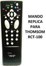 RCT100 MANDO A DISTANCIA TV RÉPLICA THOMSON // TV REMOTE CONTROL COPY THOMSON