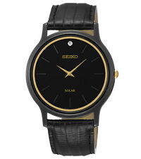Seiko SUP875 SUP875P9 Ladies Solar Watch Leather Band RRP $475.00