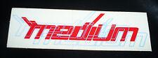 Retro Medium brand aggressive inline skate stickers & Decals by Senate