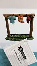 Micro Tiny Miniature Dollhouse Fairy Garden Clothesline Garden Stake