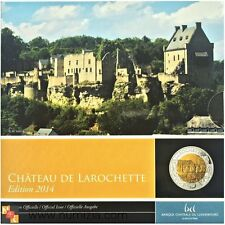 LUXEMBOURG Plata-Niobio 2014 Castillo Larochette (Certifié) avec housse