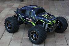 Traxxas T Maxx E Maxx 1/10 Black Body Muddy Monster Shell w/ Decal 3911R E-Maxx