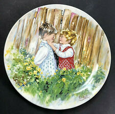 Wedgewood 1981 Collector Plate Be My Friend By Mary Vickers 1st Issue