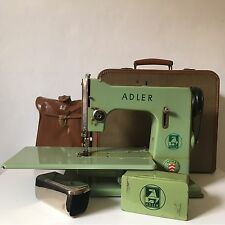 Adler Apha Bielefeld Vintage Sewing Machine Free arm Featherweight Analog