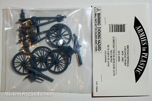 Armies in Plastic British Imperial Colonial Wars 7-Pound Artillery Guns 1/32