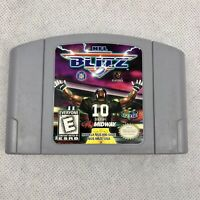 NFL Blitz Nintendo 64 Game Authentic N64 Outstanding Condition Cartridge Only