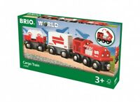 BRIO - Holzeisenbahn - Güterzug mit Frachtladung, 33888