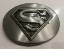 ✖ MAN OF STEEL SUPERMAN DC COMICS ~ Belt Buckle Antique silver color metal MOVIE