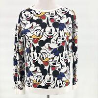 Disney XS Womens Mickey Mouse Sweatshirt