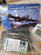 REVELL Lancaster B.III Dambusters 1:72 Aircraft Model Kit - 04295 semi started
