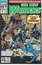 Marvel #024 - Jun 92 - The New Warriors -5.0 - Used