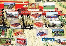 Einböck Bodenbearbeitung, orig. Prospekt 1995