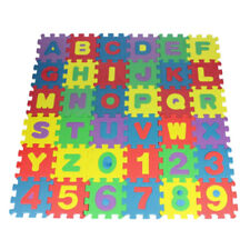 36pcs Foam Play Mat Puzzle Alphabet&Number Crawling Mat for Kids Toddlers