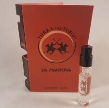 La Martina Tierra Del Fuego 2.5ml mens EDT sample spray x 1