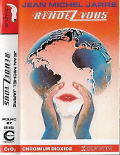 JEAN MICHEL JARRE RENDEZ VOUS CASSETTE ALBUM UK issue Electronic Ambient