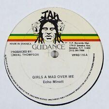 "Echo Minott ""Girls A Mad Over Me/Saddest Day"" Reggae 12"" Jah Guidance mp3"