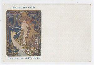 4A% ILLUSTRATEUR ART NOUVEAU MUCHA COLLECTION JOB MUCHA 1897 PUBLICITE