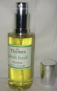 Thymes  basil eau de cologne sample large perfume is NOT included