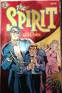 The Spirit #5 VF+/NM- 1st Print Free UK P&P Kitchen Sink Comics